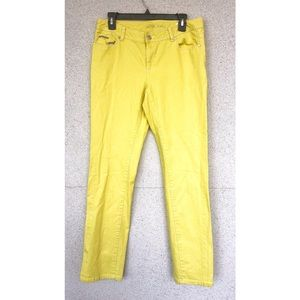 MICHAEL KORS - Yellow Studded Jeans